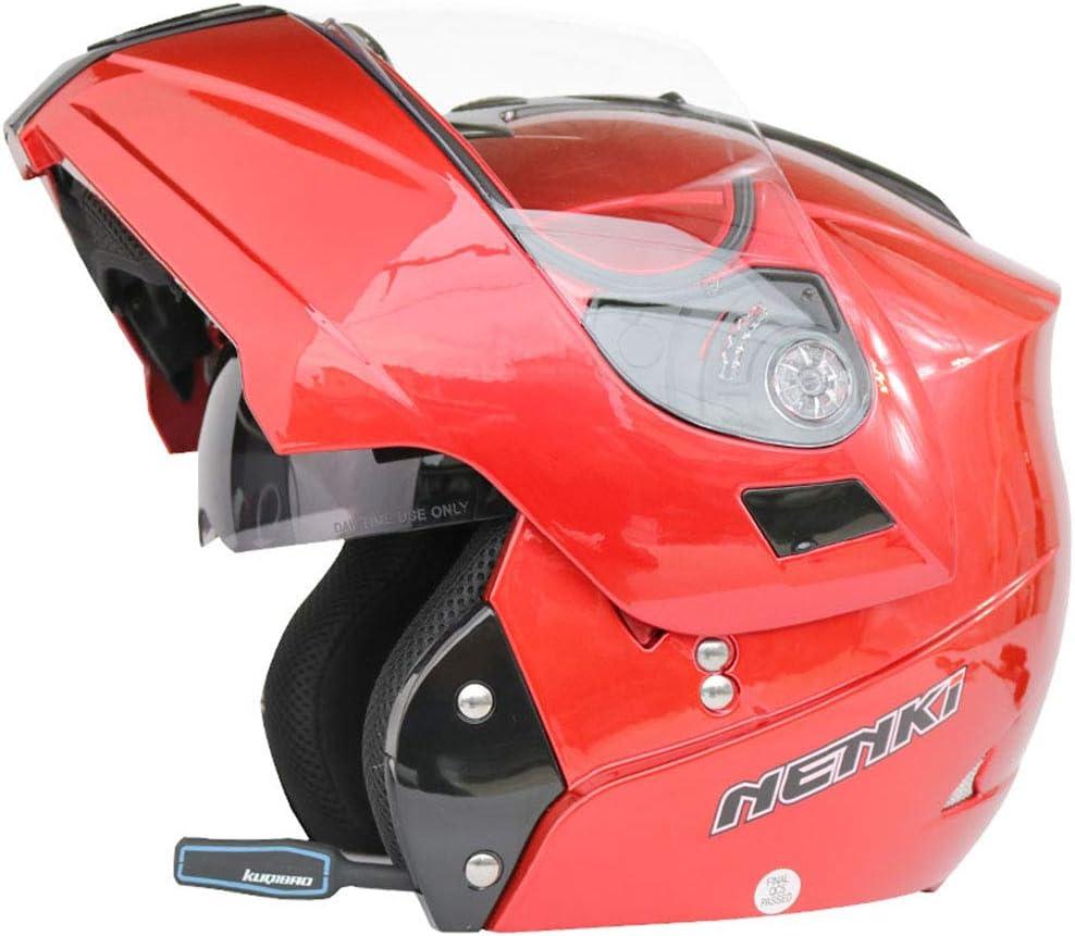 1 1 Flip Up Moto Cascos Viseras Dobles Anti Ultravioleta