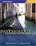 Psychology : A Journey of Discovery, Franzoi, Stephen L., 1592602622
