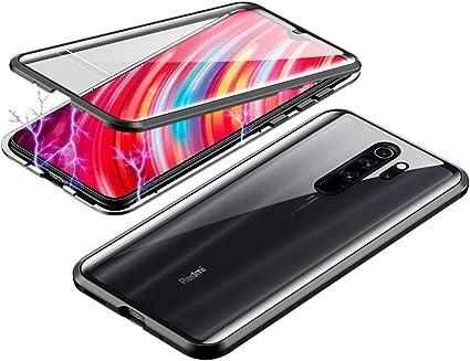 Jonwelsy Funda para Xiaomi Redmi Note 8 Pro, Adsorción Magnética ...