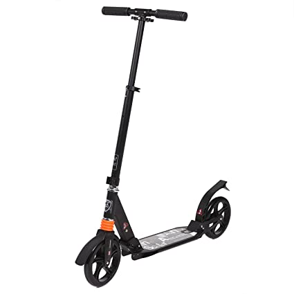 Ancheer patinete scooter plegable, diseño de T, altura ...