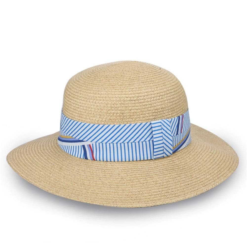 Zhangcaiyun Cappelli da Donna Sun Beach Spiaggia Cappello floscio da  Spiaggia Beach Estivo a Tesa Larga da Donna aa5f792ec360