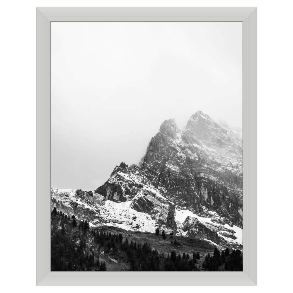 Premium 20 x 26 Satin Silver Metal Frame Profile #99