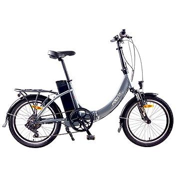 Bicicleta eléctrica plegable MOOVIN a distancia