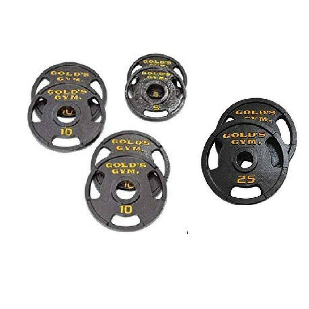 Golds Gym.. 50 lb Olympic Plate Set (100)