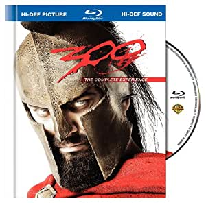 300 (The Complete Experience Blu-ray Book Packaging + BD-Live)