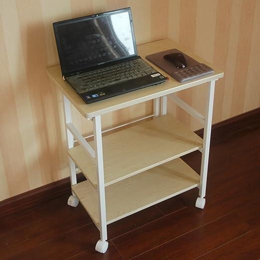 Mesa plegable ZZHF Escritorio Plegable de 3 Pisos para computadora ...