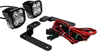 product image for Baja Designs A-Pillar Squadron Sport LED Light Kit compatible with Jeep Gladiator