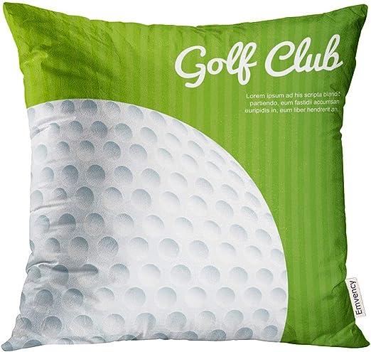 Kinhevao Cojín Almohada Golf Activo Deporte Diseño Actividad ...