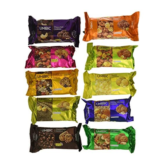 Unibic Assorted Cookies  75g (Pack of 10)