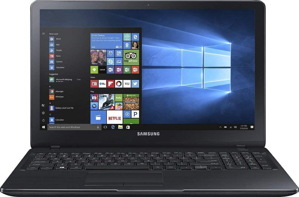 Samsung 15.6-Inch HD Touchscreen Laptop, 7th Intel Core i5-7200U, 8GB DDR4 RAM, 1TB HDD, NVIDIA GeForce 920MX 2GB Dedicated Graphics, 802.11AC, HDMI, Bluetooth, Webcam, Windows 10 (Renewed)