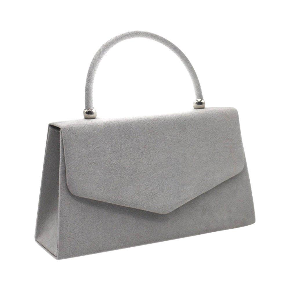 93eeccc4ad86 (grey) - Wiwsi Party Prom Women Tote Bag Lady Best Gift Present Bridesmaid  Clutch Handbag(grey)  Amazon.com.au  Fashion