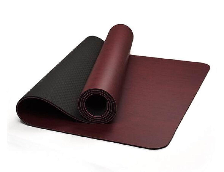 ZHANGHAOBO Yoga Mat PU Yu Pad Umweltschutz Anti-Rutsch Tanz Matte 61cm Outdoor Fitness Mat