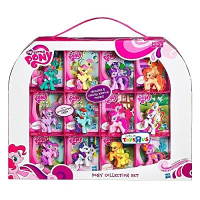 My Little Pony Exclusive 12Pack Pony Collection Set Includes 6 Special Edition Ponies!: Toys & Games