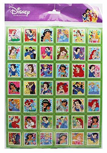 Disney Princess Postage Stamp Design Decorative Stamps (42 (Princess Postage)
