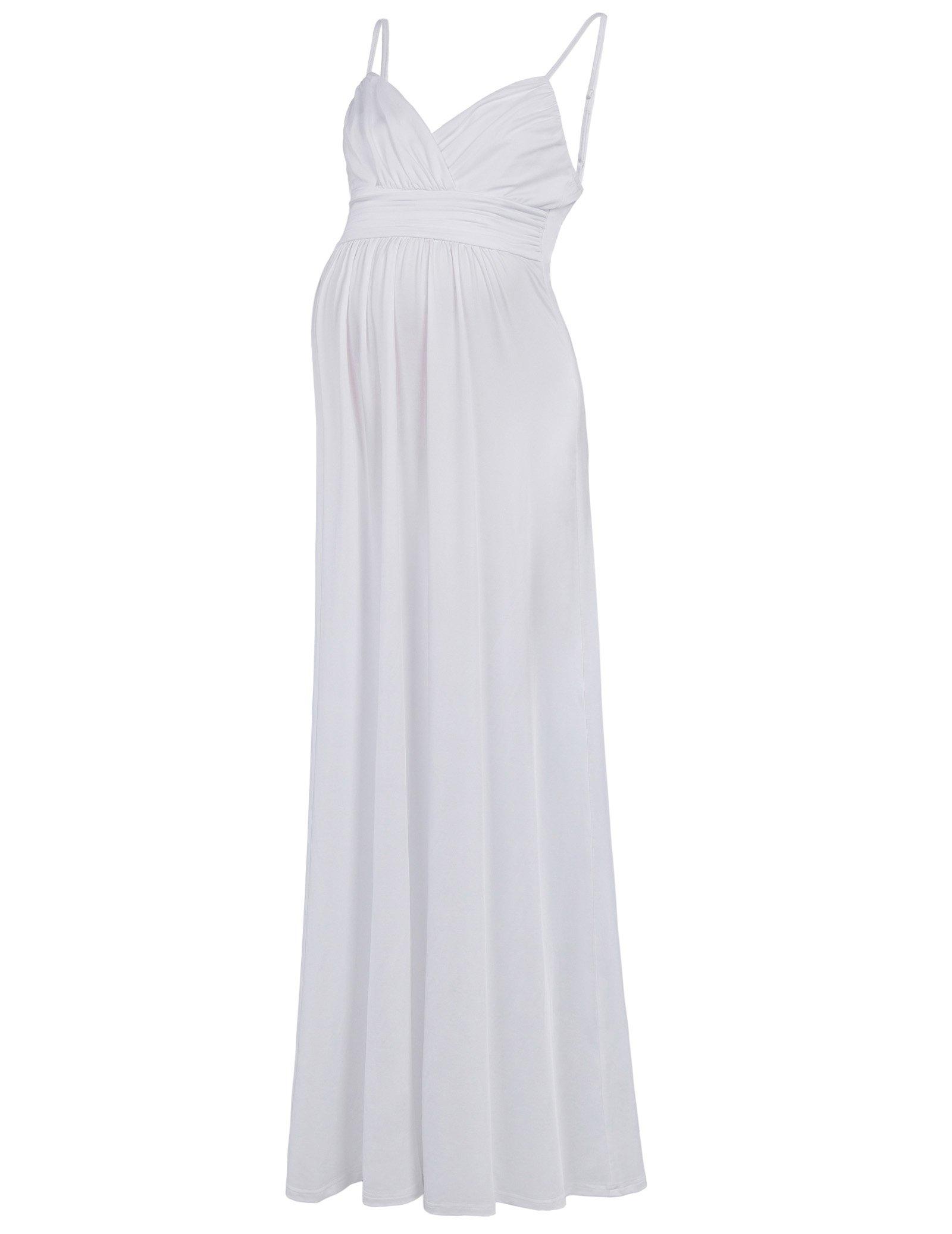 Womens Maternity Sweetheart Long Dress L KK674-2
