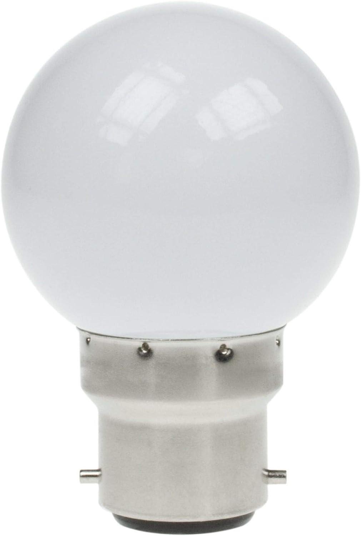1w Led Golf Lamp 6000k Daylight White 40 Lumens B22/BC Cap A+ ...