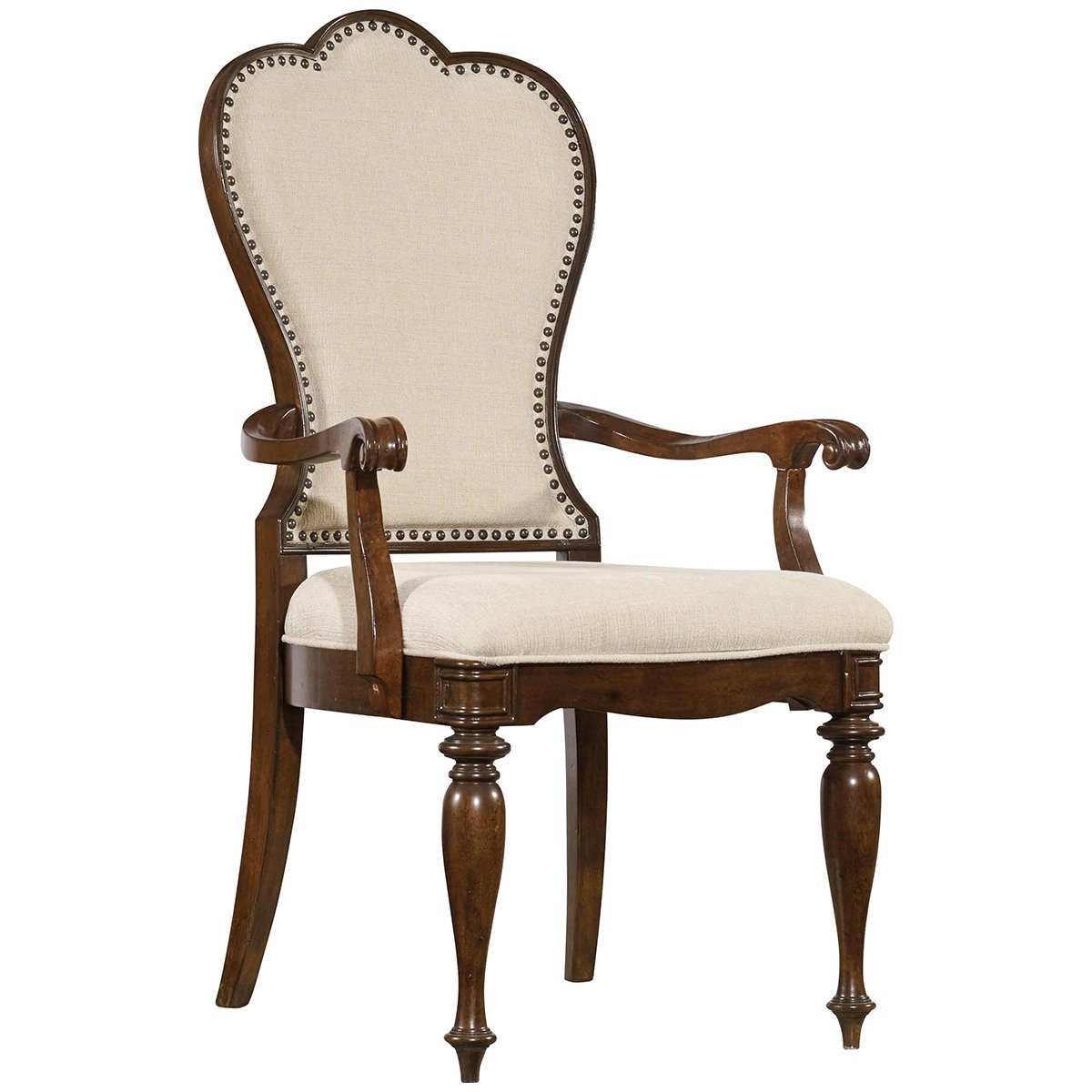 Hooker Furniture Leesburg Dining Arm Chair in Mahogany by Hooker Furniture