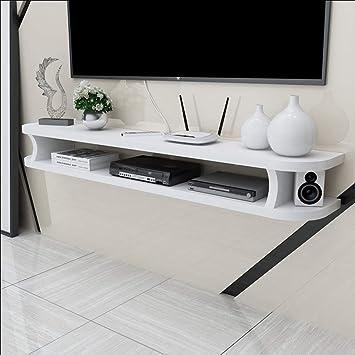 étagère étagère Flottante Meuble Tv Fond De Mur étagère De Rangement