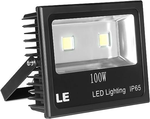 10150lm Fluter Flutlicht Außenleuchte Wasserdicht Kaltweiß 100W LED Strahler