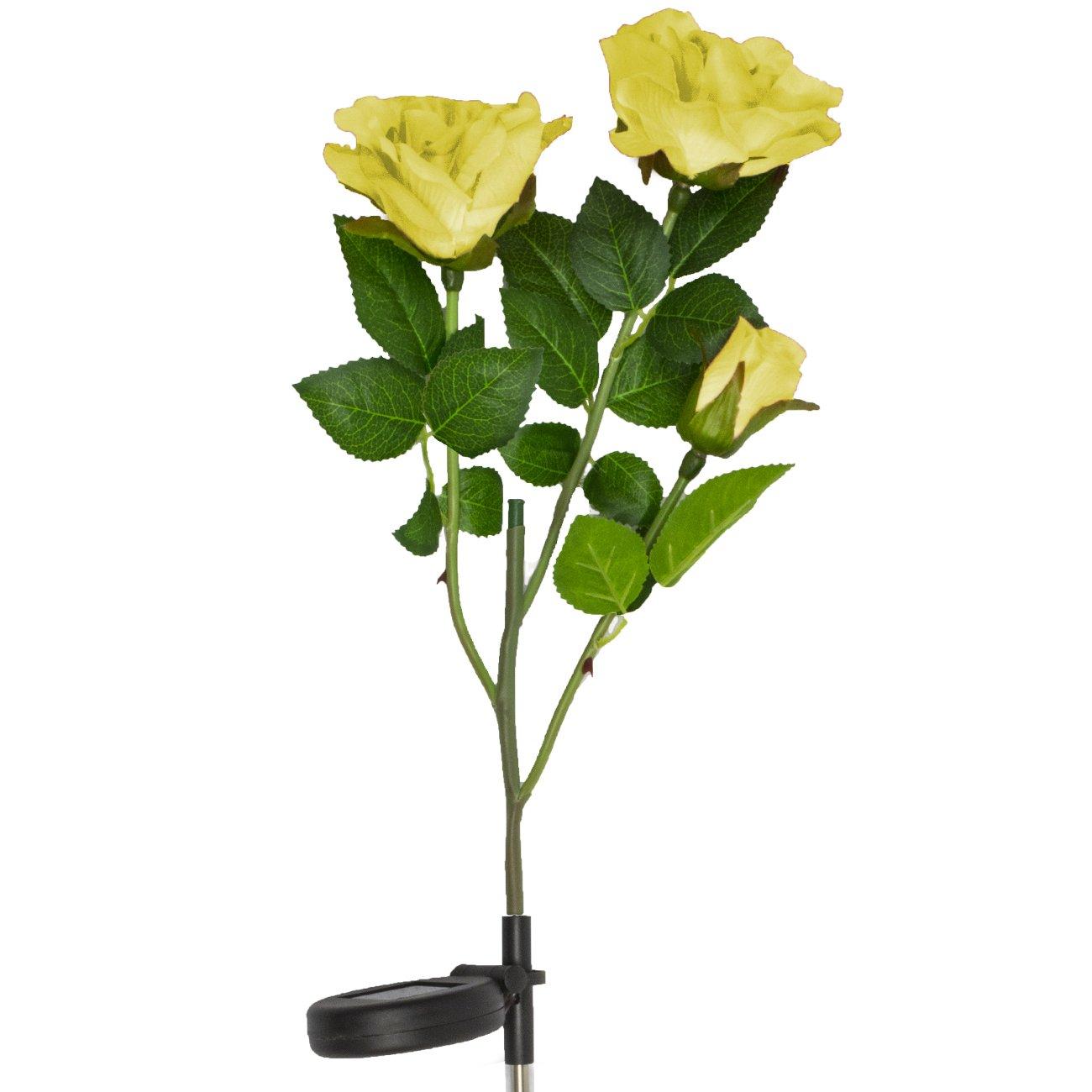 Flower Lamp Solar Powered