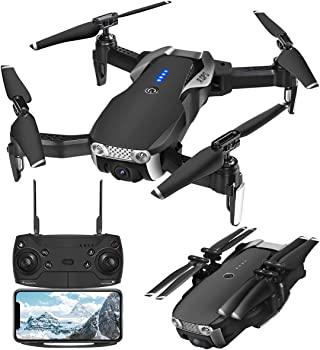 EACHINE GPS Drones with 1080P Adjustable Wide-Angle Camera
