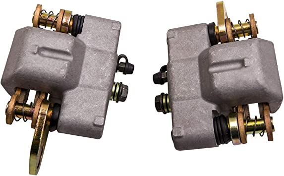 Caltric Front Left and Right Brake Caliper w//Pads for Polaris Magnum 500 325 2001 2002 2003