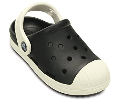 crocs Kids Unisex Bump It Black Oyster Clogs  Buy Online at Low Prices in  India - Amazon.in b0f82e631b4