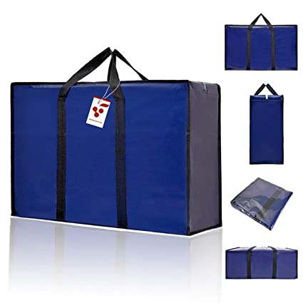 Amazon.com: Berri 3 X Large Laundry Storage Shopping Bags ...