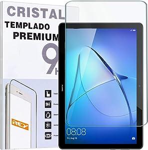 REY Protector de Pantalla para Huawei MEDIAPAD T5 10.1