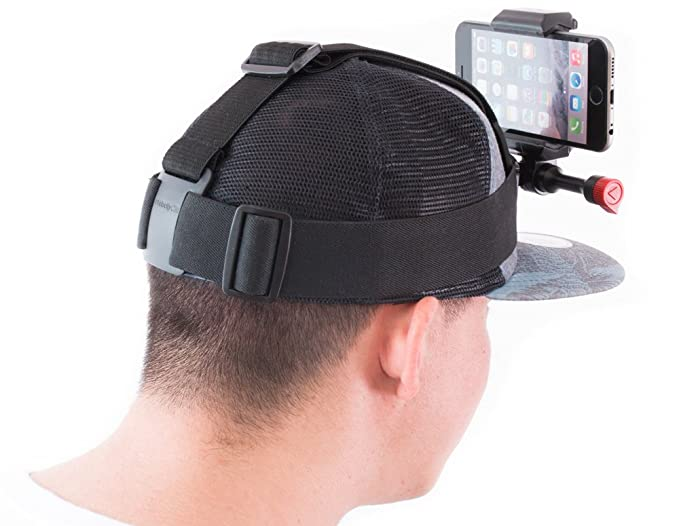 65582e59506 Amazon.com  POV Head Mounted Camera Strap for Your iPhone