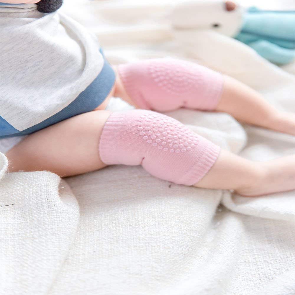 Aweso 5 Pares Beb/é Protectores De Rodillas Rastreo Antideslizante Rodilleras Para Ni/ñas Y Ni/ños