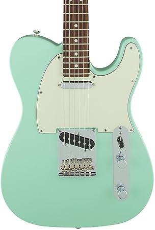 Fender edición limitada American estándar Telecaster cuello de madera de palisandro guitarra eléctrica golpeador de surf