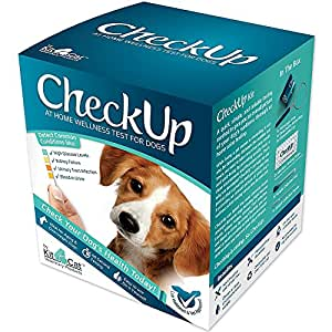 Coastline Global Checkup Kit at Home Wellness Test for Dogs, Urine Collection and Detection of Diabetes, Kidney Conditions, UTI, Blood in Urine