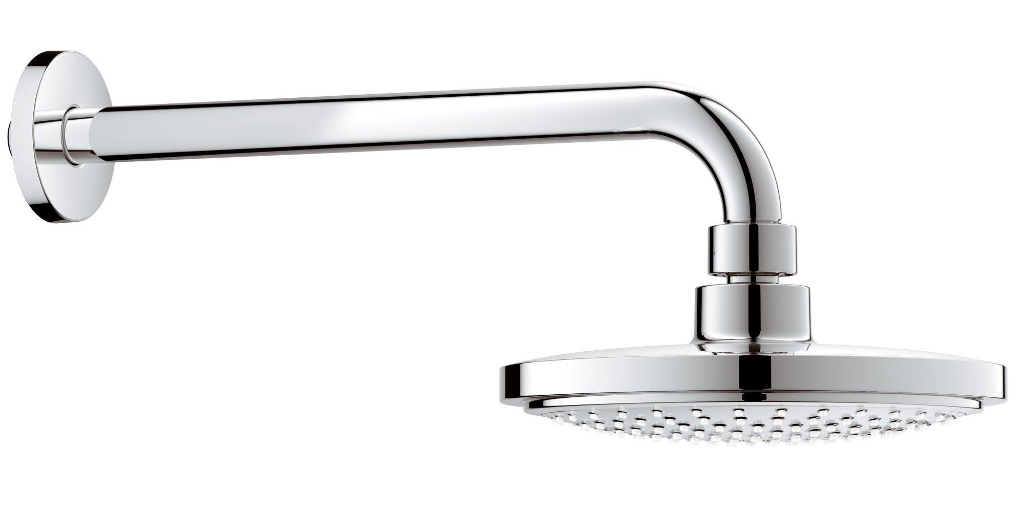 grohe 26074000 vitalio joy 180 head shower set. Black Bedroom Furniture Sets. Home Design Ideas