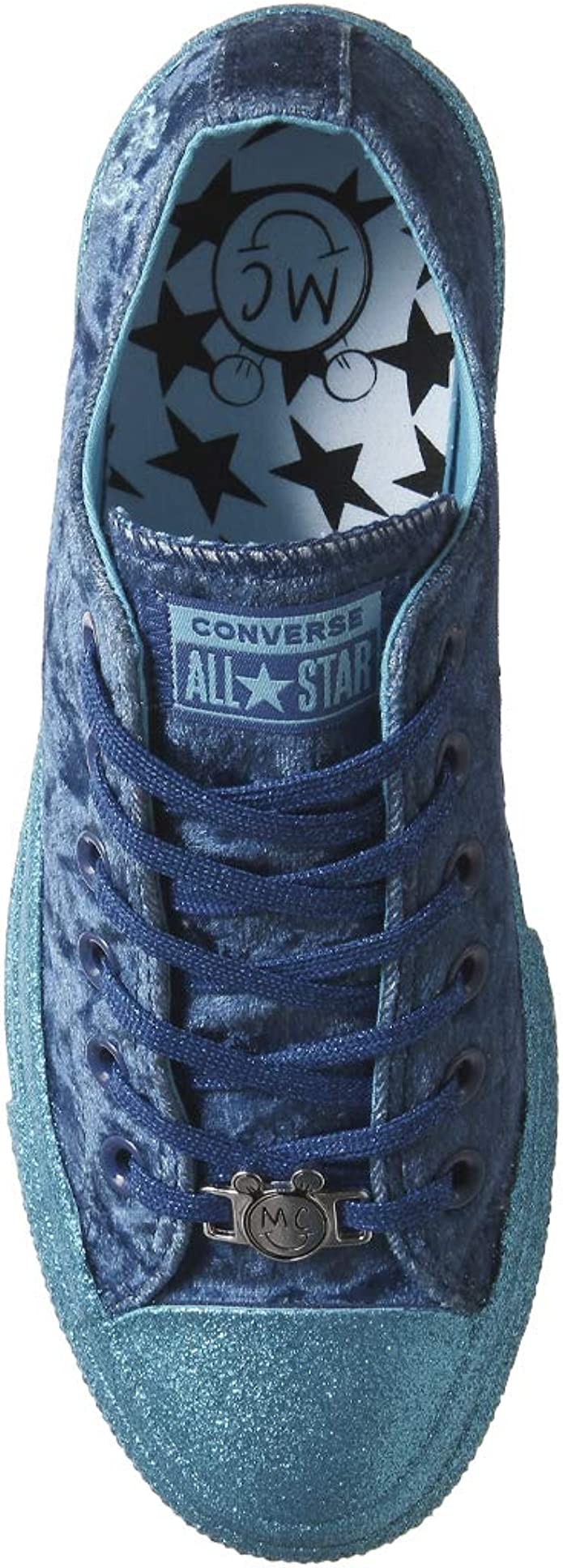 Converse Womens Chuck Taylor All Star OX Miley Cyrus Weiss