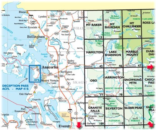 Green Trails Maps, Washington