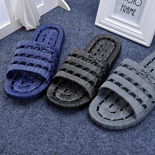 SUNAVY por casa gris de Zapatillas estar para mujer qfSPRqw