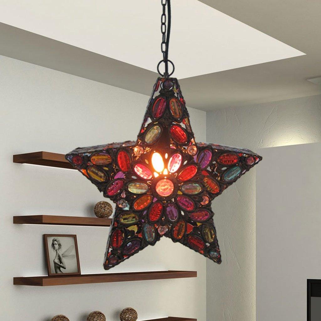 Continental Retro fer étoile Lustre de style méditerranéen -E14  WEBO HOME