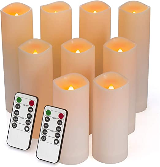 battery operated candlesticks for windows