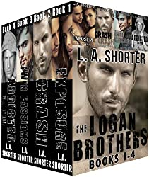 The Logan Brothers - Books 1-4: (EXPOSURE, CRASH, TWIN PASSIONS, and ADDICTED TO YOU) (Romantic Boxed Set and Alpha Male Romance Series) (English Edition)