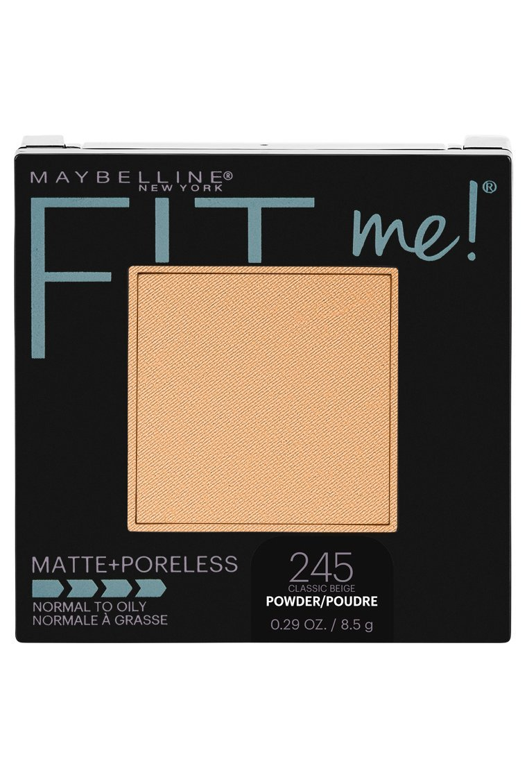Maybelline New York Fit Me Matte + Poreless Powder Makeup, Classic Beige, 0.29 Ounce, Pack of 1