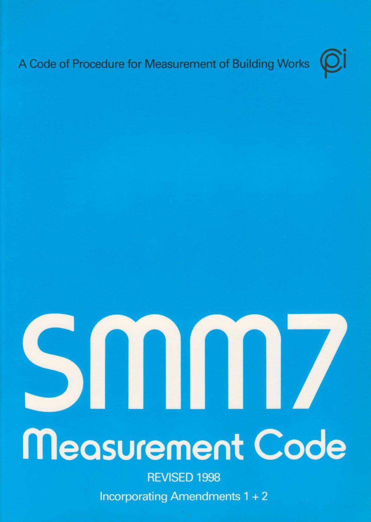 Smm7 Measurement Code 9780854063611 Amazon Com Books