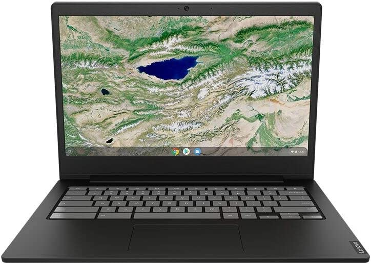 "2020 Newest Lenovo 14 Thin and Light Chromebook: 14"" FHD Anti-Glare Display, Intel Dual Core N4000 Processor, 4GB RAM, 64GB eMMC, WiFi, Bluetooth, HD Webcam, USB-C, Google Chrome OS"