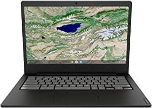 "2020 Newest Lenovo 14 Thin and Light Chromebook: 14"" FHD Anti-Glare Display, Intel Dual Core N4000 Processor, 4GB RAM, 64GB eMMC, WiFi, Bluetooth, HD Webcam, USB-C, Google Chrome OS"