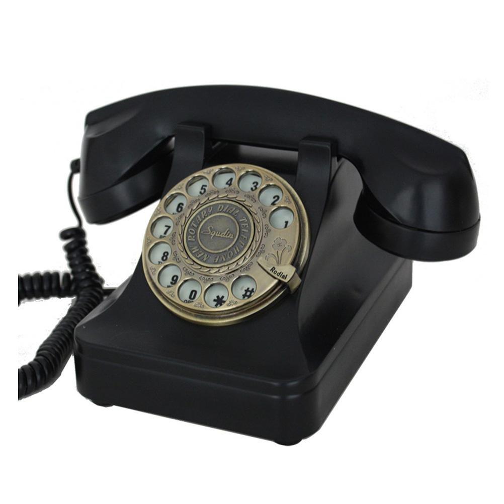 Vintage teléfono Teléfono Antiguo Retro Teléfono metal tonos ...