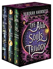 """A Discovery of Witches, Shadow of Night, and The Book of Life, now available in a beautiful boxed set.Look for the hit TV series """"A Discovery of Witches"""" airing Sundays on AMC and BBC America, and streaming on Sundance Now and Shudder.With mo..."""