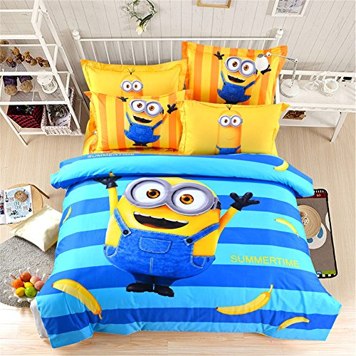 Lotus Karen Despicable Me Minions 100% Cotton 4-piece Kids C