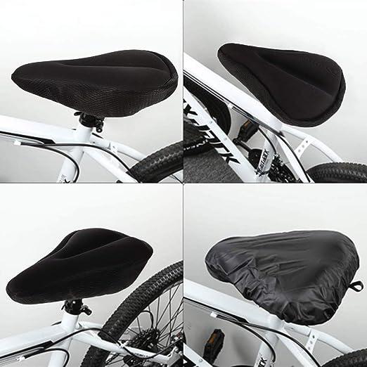 3 Mousse Coussin large NAMYA Confortable Voir image 4 Pas de z/éro Housse de selle large en gel Pour v/élo Pour ext/érieur Grand exercice int/érieur et ext/érieur
