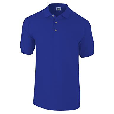 Gildan Mens Ultra Cotton Pique Polo Shirt (S) (Royal)