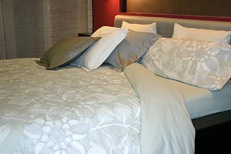Juego de sábanas Algodón 100% floral DALIA (para cama de 90x190/200): Amazon.es: Hogar